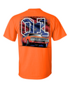 Cooter's General Lee W/ Rebel Flag 01 T-Shirt