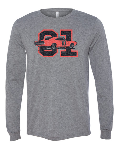 Cooter's GL 01 Grey Long Sleeve T-Shirt