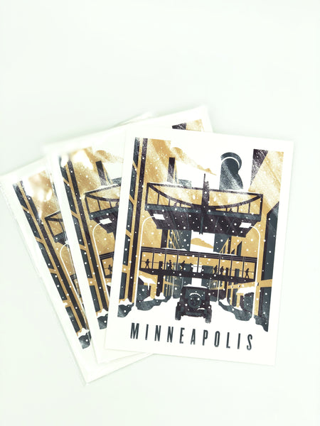 Downtown Minneapolis Postcard