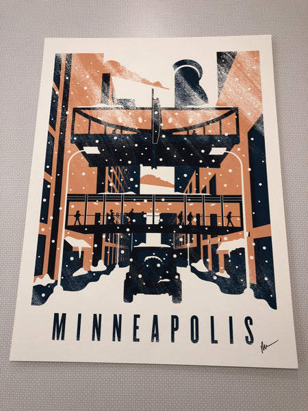 Downtown Minneapolis Print