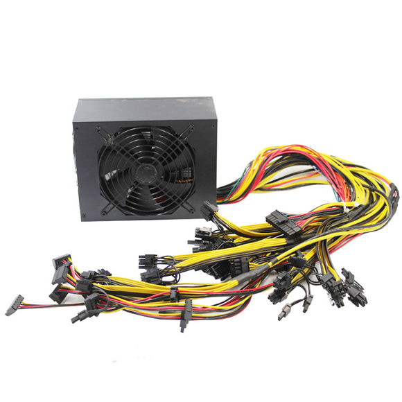 1800W PSU ATX Computer and Mining Power Supply 110V - Cryptocoin Mining Equipment