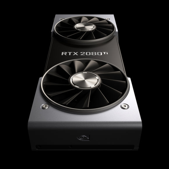 Nvidia GeForce GTX 2080 Ti Founders Edition GPU - Cryptocoin Mining Equipment