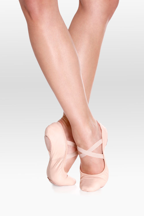 SoDanca Stretch Leather Ballet Shoe - Adult SD60