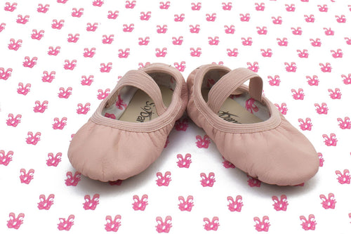 SoDanca Bella Child Leather Ballet Shoe SD69S