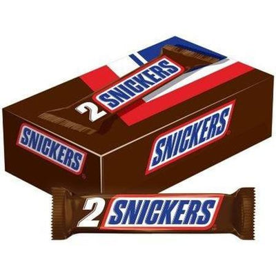 Snickers Candy Bar, King Size (3.29 oz. ea., 24 ct.)