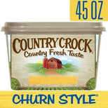 Country Crock Churn Style 40% Vegetable Oil Spread, 45 oz