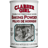 Clabber Girl Double Acting Baking Powder, 22 oz