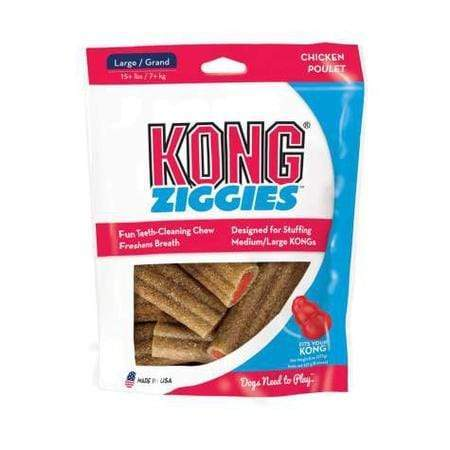 KONG Ziggies Adult Dog Treats, 8 oz.