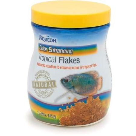 Aqueon Color Enhancing Tropical Flakes, 2.29 oz.