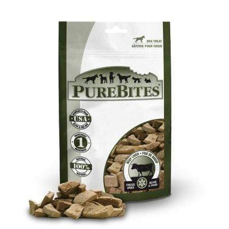 PureBites Beef Liver Super Value Size Dog Treats, 16.6 oz.