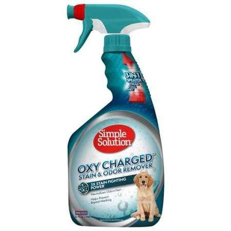 Simple Solution Oxy Charged Stain & Odor Remover for Dogs, 32 fl. oz.