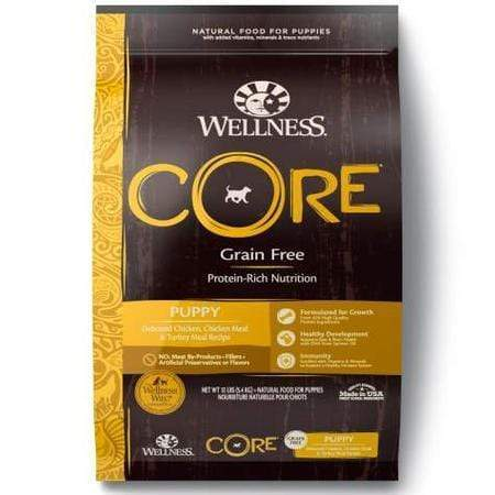 Wellness CORE Natural Grain Free Puppy Health Recipe Dry Dog Food, 12 lbs.