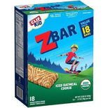 Clif Kid ZBAR - Organic Granola Bars - Iced Oatmeal Cookie - 1.27 Ounce Energy Bars - Kids Snacks - 18 Count