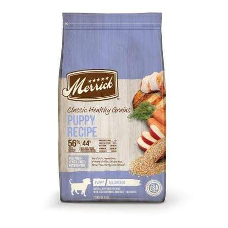 Merrick Classic Healthy Grains Puppy Recipe Dry Dog Food, 12 lbs.