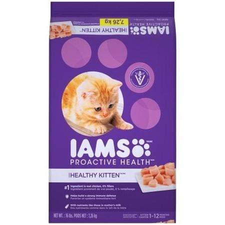 Iams ProActive Health Healthy Kitten Dry Cat Food, 16 lbs.