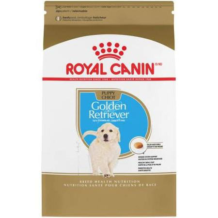 Royal Canin Breed Health Nutrition Golden Retriever Puppy Dry Dog Food, 30 lbs.