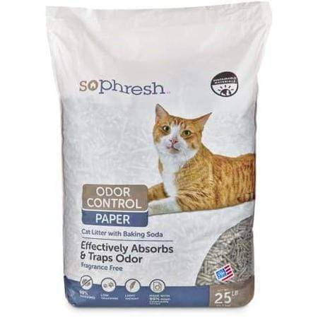 So Phresh Odor Control Paper Cat Litter, 25 lbs.