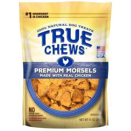 True Chews Premium Morsels Chicken Dog Treats, 11 oz.