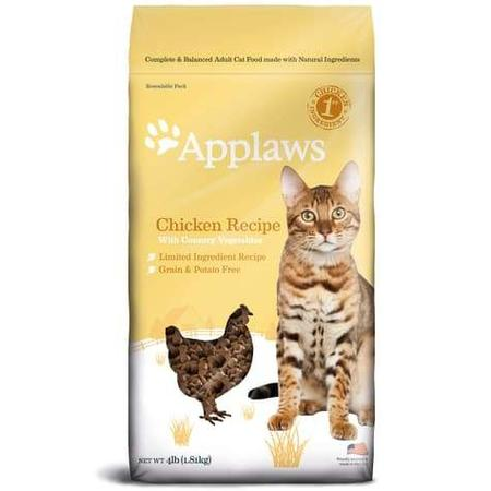 Applaws Chicken Grain Free Dry Cat Food, 4 lbs.