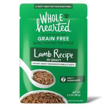 WholeHearted Lamb Recipe in Gravy Dog Meal Topper, 2.8 oz., Case of 6