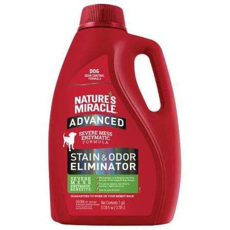 Nature's Miracle Advanced Stain & Odor Removers For Dog, 1 Gallon