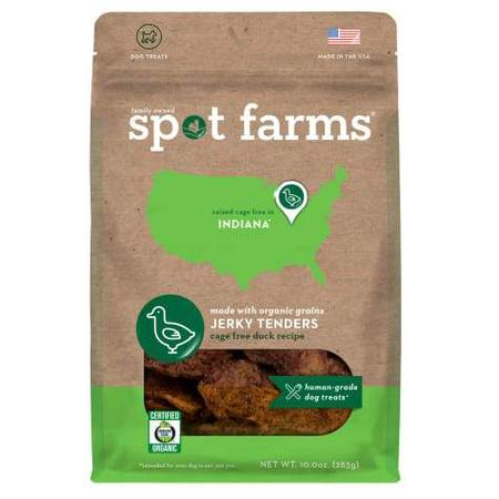 Spot Forms Organic Duck Jerky Dog Treats, 10 oz.