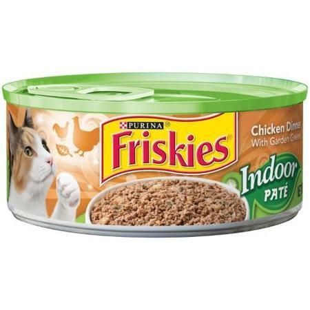 (24Pk) Friskies Indoor Wet Cat Food, 5.5-Oz. Cans (Multiple Flavors + Forms)