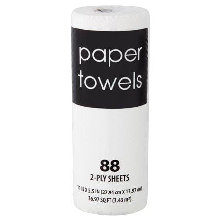2-Ply Paper Towels, 88 Sheets