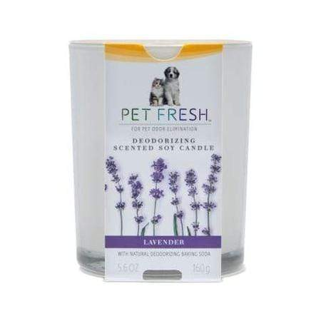 Arm & Hammer Pet Fresh Deodorizing Scented Soy Candle Lavender for Dogs and Cats, 5.6 fl. oz.