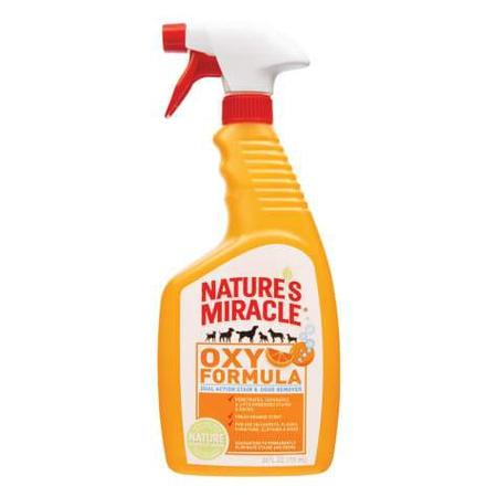Nature's Miracle Orange-Oxy Power Stain and Odor Remover, 24 oz.
