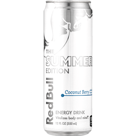 (1 Can) Red Bull Energy Drink, Coconut Berry, 12 Fl Oz, Coconut Edition