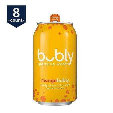 bubly Mango Sparkling Water, 12 Fl. Oz., 8 Count