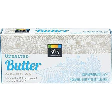 365 Everyday Value, Butter Unsalted, 16 Ounce