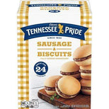 Odoms Tennessee Pride Sausage Biscuits 24 Count