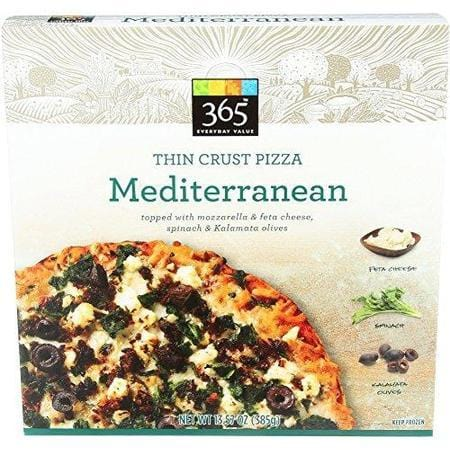 365 Everyday Value, Pizza Mediterranean, 13.57 Ounce