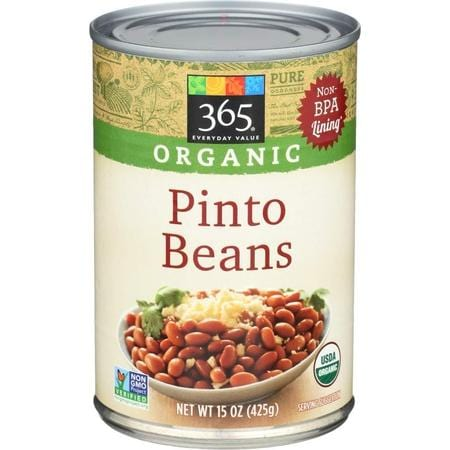365 Everyday Value, Organic Pinto Beans, 15 oz