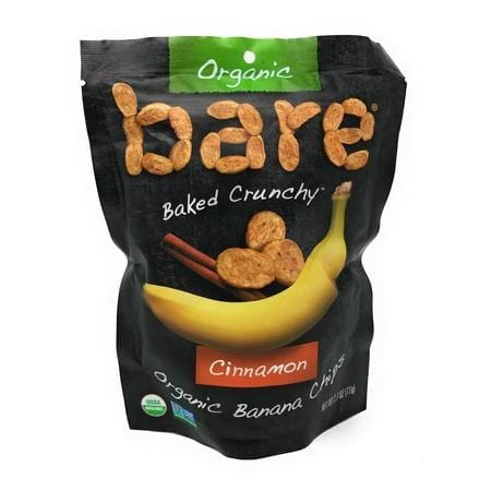 Bare, Banana Chips Cinnamon Organic, 2.7 Ounce
