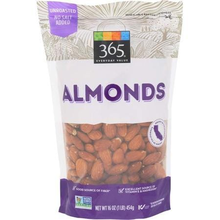 365 Everyday Value, Almonds, 16 oz