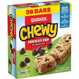 Quaker Chewy Granola Bars, Chocolate Chip (36 Bars)
