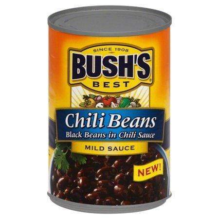 Bush's Best Black Beans In A Mild Chili Sauce, 15.5 Oz