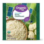 Great Value Organic Steamable Riced Cauliflower, 10 oz