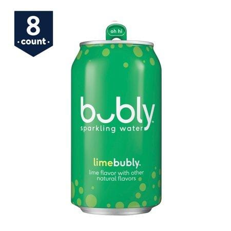 bubly Lime Sparkling Water, 12 Fl. Oz., 8 Count