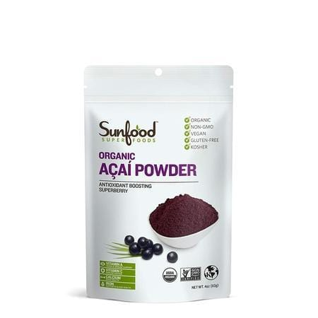 Sunfood, Acai Powder Organic, 4 Ounce