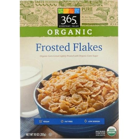 365 Everyday Value, Organic Frosted Flakes, 10 oz