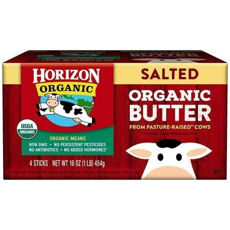 Horizon Organic, Salted Butter, 4 Count