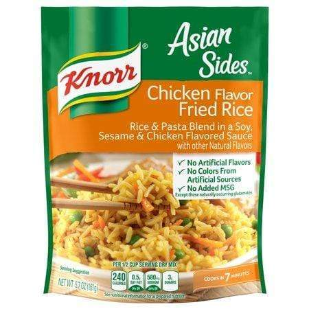 Knorr Chicken Fried Rice Asian Side Dish, 5.7 oz