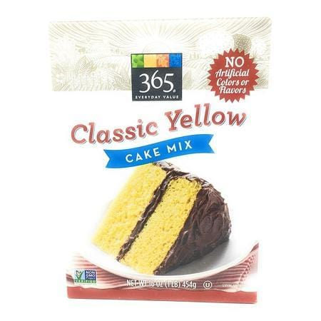 365 Everyday Value, Mix Cake Classic Yellow, 16 Ounce