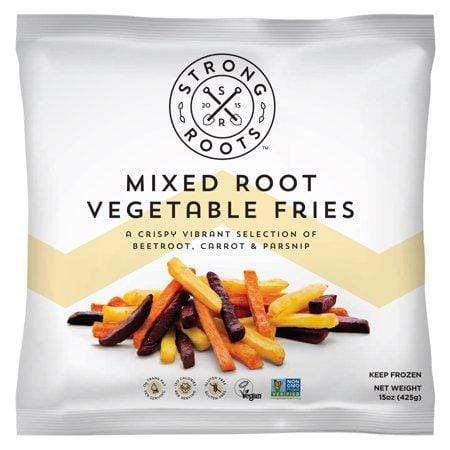 Strong Roots, Mixed Root Vegetable Fries, Plant-Based Frozen Vegetables, 15 oz