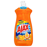 Ajax Ultra Triple Action Dishwashing Liquid Dish Soap, Orange - 28 Fl Oz