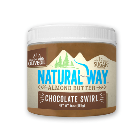 Natural Way Chocolate Swirl Almond Butter, 16 oz.